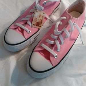 Converse All Star Pink Shoes Men (5,5) Women (7)